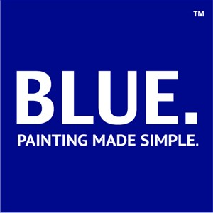 Blue Painting Logo