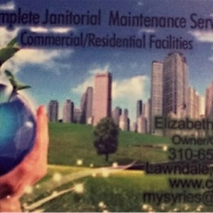 Complete Janitorial Maintenance Service Logo