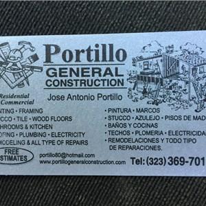 Portillo General Construction Cover Photo