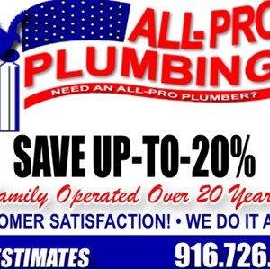 All Pro Plumbing Cover Photo