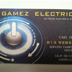 A GAMEZ  ELECTRICAL LLC Logo