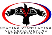 Raven A/C and Refrigeration Services, LLC Logo
