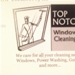 Top Notch Window Cleaners, LP Logo