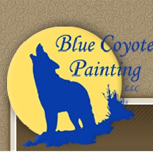Blue Coyote Painting LLC Logo