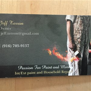 Passion for Paint and Handyman services Logo