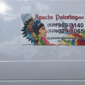 Apache Painting Llc Logo
