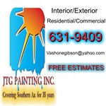 JTG Painting Inc. Logo
