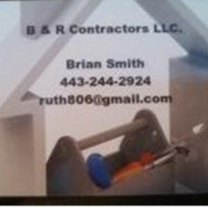 B&R Contractors LLC. Logo