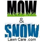 Mow & Snow Lawn Care Logo