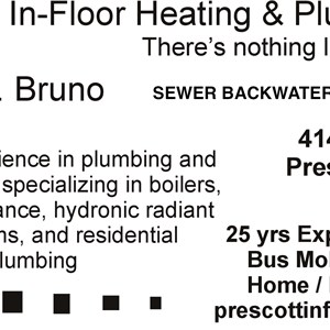 Prescott In-floor Heating & Plumbing LLC Cover Photo