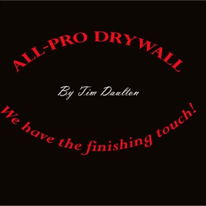 All Pro Drywall Cover Photo