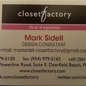 Mark Sidell @ Closet Factory Cover Photo