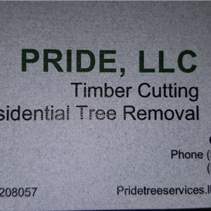 Pride, llc  Danger Tree Removal, Timber Cutting, Land Clearing, llc. Cover Photo