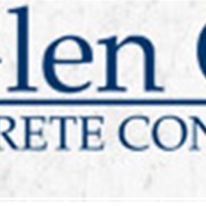 Glen Galis Concrete Contractor Logo