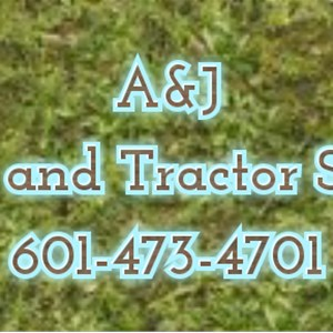 A&j Lawn and Tractor Service Logo