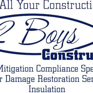 2 Boys Construction & Screening Inc. Logo