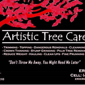 Artistic Tree Care *****new***** Cover Photo