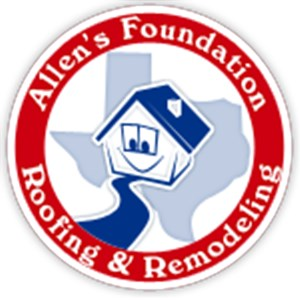 Allens Foundation and Remodeling Logo