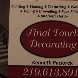 Final Touch Decorating Logo