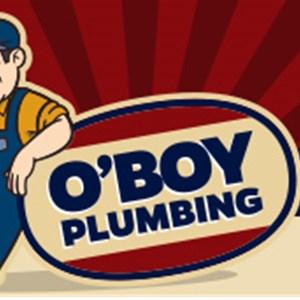 Oboy Plumbing Logo