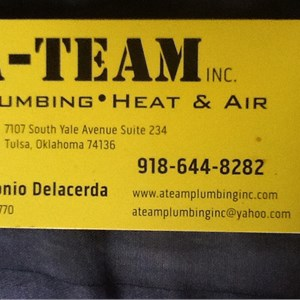 A-team Plumbing•heat & Air Logo