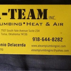 A-team Plumbing•heat & Air Cover Photo