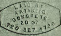 Artistic Concrete Flooring Logo