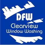Dfw Clear View Window Washing Logo