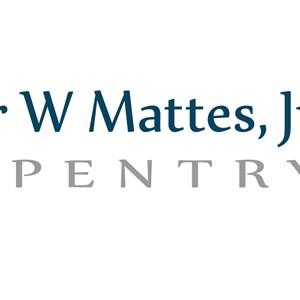 Arthur W Mattes Jr Carpentry Logo