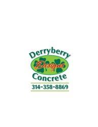 Derryberry Concrete Designs Logo
