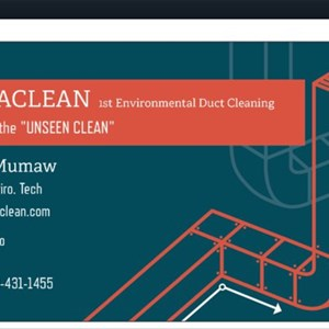 Hepaclean Duct Cleaning Service Logo