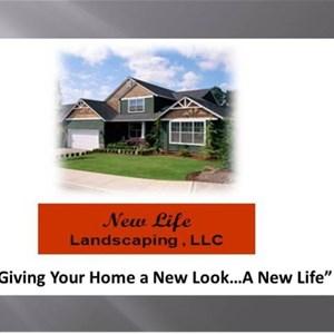New Life Landscaping LLC Logo