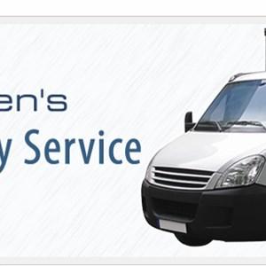 Christensens Delivery Service Logo
