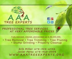 AAA Tree Experts Logo
