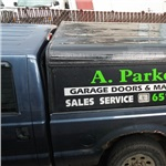A Parkers Garage Doors Cover Photo