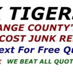 Junk Tiger Hauling Logo