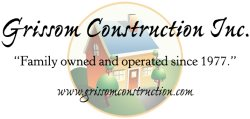 Grissom Construction Logo