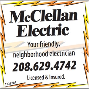 David McClellan Electrical Service Logo