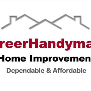 GreerHandyman Home Improvement Logo