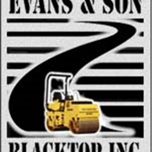 Evans & Son Blacktop inc Logo