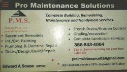 Pro Maintenance Solutions Logo