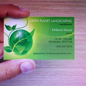 Green Planet Landscaping Inc Logo