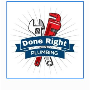 Done Right Plumbing Logo