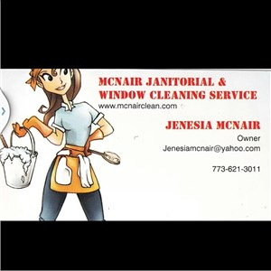 Mcnair Janitorial & Window Cleaning Services Logo
