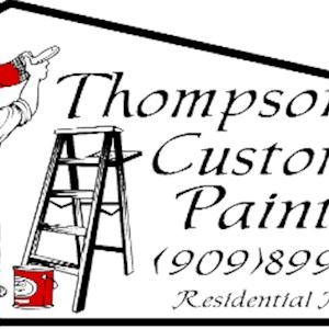 Thompson Custom Painting Logo
