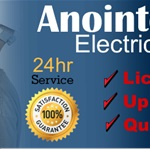 Anointed Hands Electrical Services LLC Logo