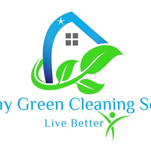 Healthy Green Cleaning Services Logo