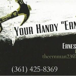 Your Handy Ern Man Logo