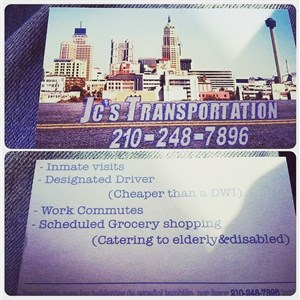 Jcs Private Transportation Logo