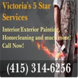 Victorias 5 Star Services - LuvUrPet Logo